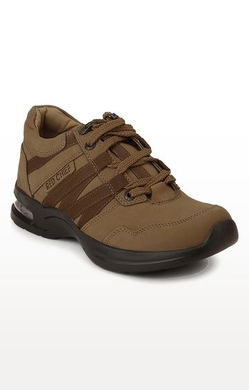 RED CHIEF   RC1976 013 - Brown Hiking Shoes
