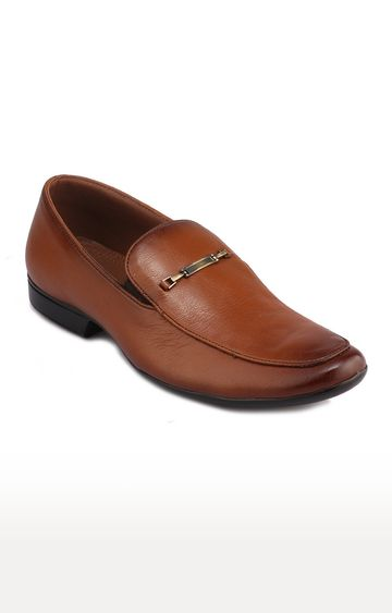 RED CHIEF | Tan Formal Slip-ons