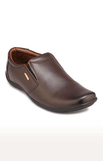 RED CHIEF   Brown Formal Slip-ons