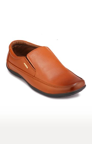 RED CHIEF   Tan Formal Slip-ons