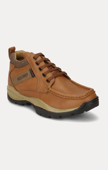 RED CHIEF   RC2051-D 107 - MENS CASUAL Tan Boots