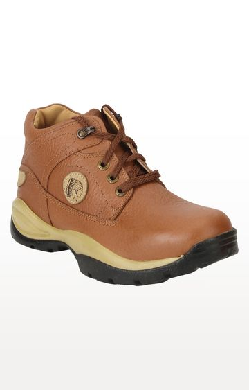 RED CHIEF   Tan Hiking Shoes