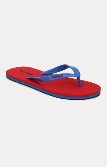 RED CHIEF | Red & Blue Flip Flops