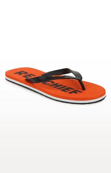 RED CHIEF | Orange Flip Flops