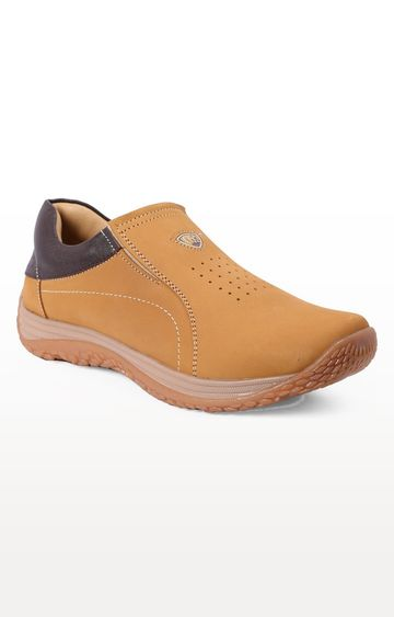 RED CHIEF   Tan Casual Slip-ons