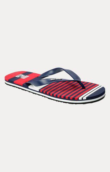 RED CHIEF | Red & Navy Flip Flops