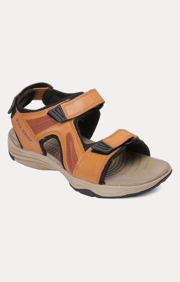 RED CHIEF | Tan Sandals