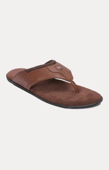 RED CHIEF | Brown Slippers