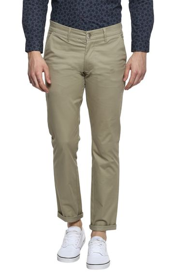RED CHIEF | Grey Straight Chinos