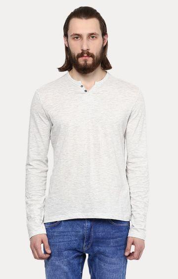 celio | Light Grey Melange T-Shirt