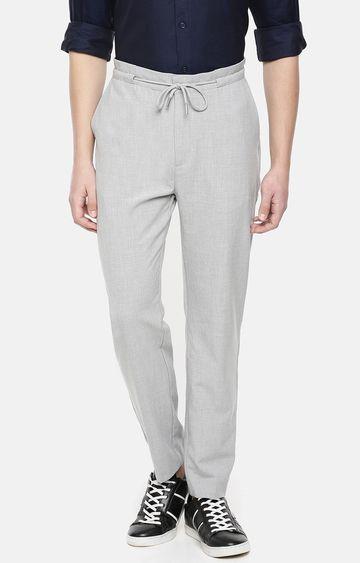 celio | Grey Straight Slim Fit Chinos