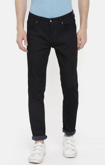celio | Blue Solid Slim Fit Jeans