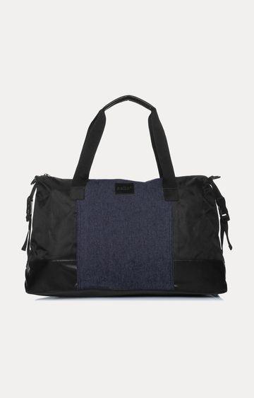 celio | Indigo and Black Duffle Bag