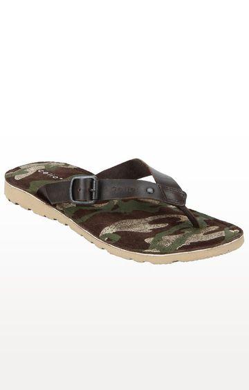 celio | Brown Flip Flops