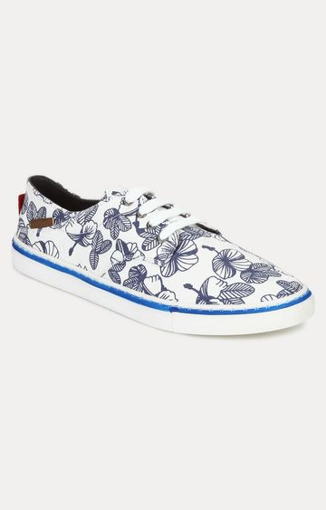 celio | Blue and White Sneakers