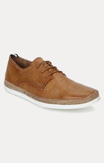 celio | Tan Casual Lace-ups