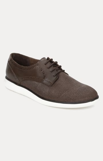 celio | Dark Brown Casual Lace-ups