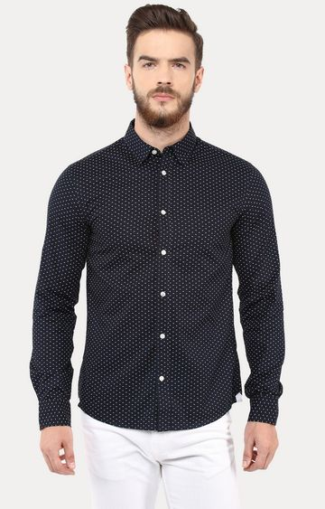 celio | Marine Patterned Casual Shirt
