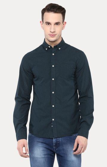 celio | Vert Checked Casual Shirt