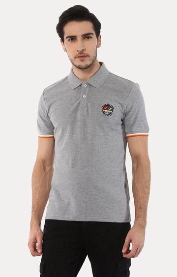 celio | Jeretro Grey Melange T-Shirt