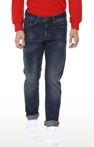 celio | Indigo Solid Straight Fit Jeans