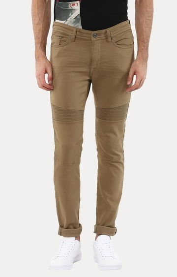celio | Joker Brown Straight Jeans