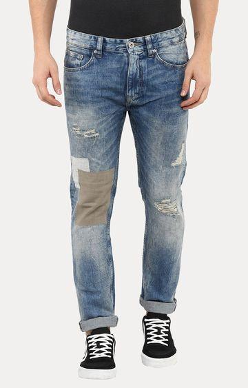 celio   Jopassion Blue Straight Jeans