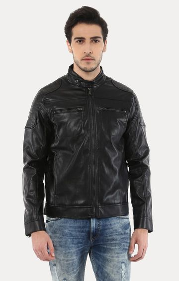 celio | Jubiker Black Solid Jacket