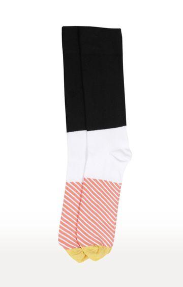 celio   Black Striped Socks