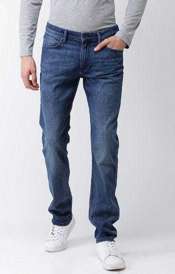 celio | Blue Solid Straight Jeans