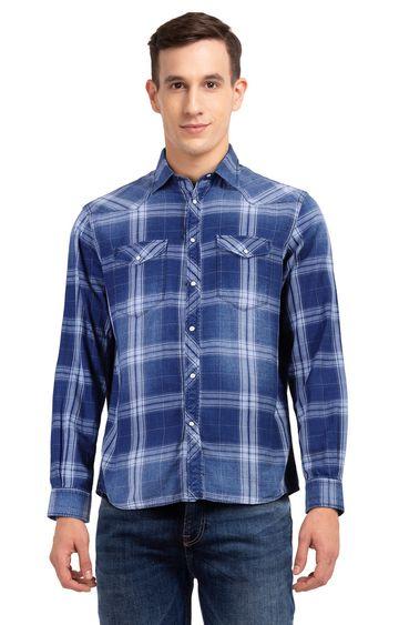 celio | Navy Blue Solid T-Shirt
