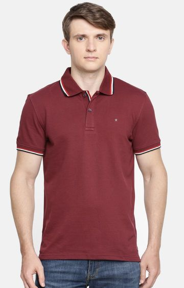 celio | Red Solid Casual Shirt