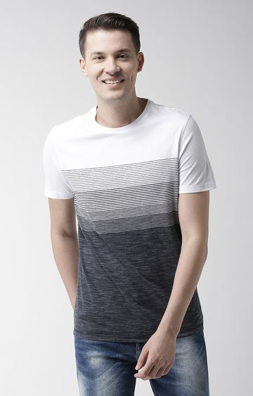 celio | Navy Solid Straight Fit T-Shirt