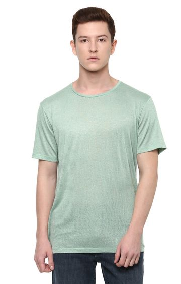 celio | Green Lichen Solid T-Shirt