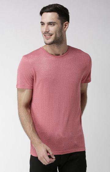 celio | Rose Melange Straight Fit T-Shirt