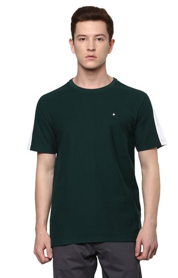 celio | Green Solid T-Shirt