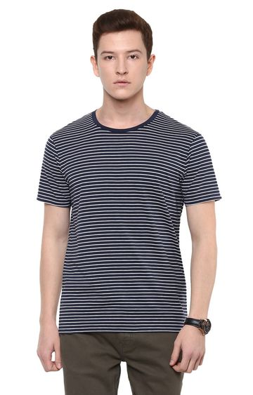 celio | Dark Grey Printed T-Shirt