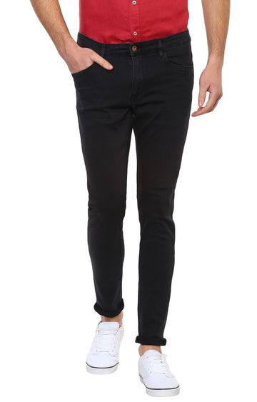 celio | Black Solid Skinny Fit Jeans