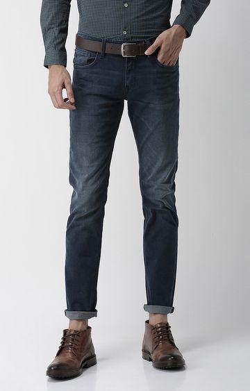 celio | Blue Solid Slim Fit Jeans