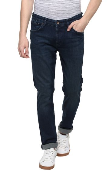 celio | Dark Blue Solid Slim Fit Jeans