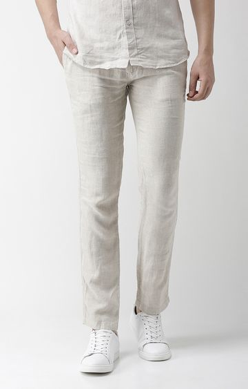 celio | Grey Tapered Slim Fit Chinos