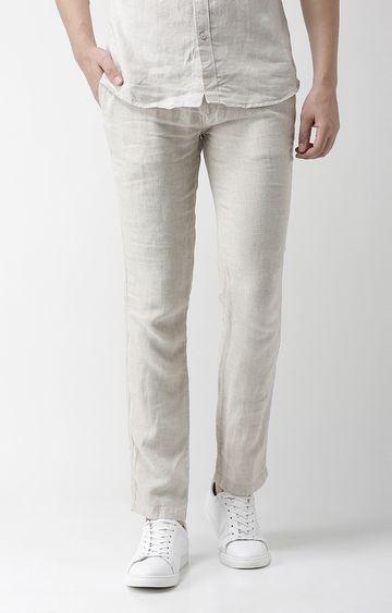 celio | Grey Tapered Slim Fit Chinos