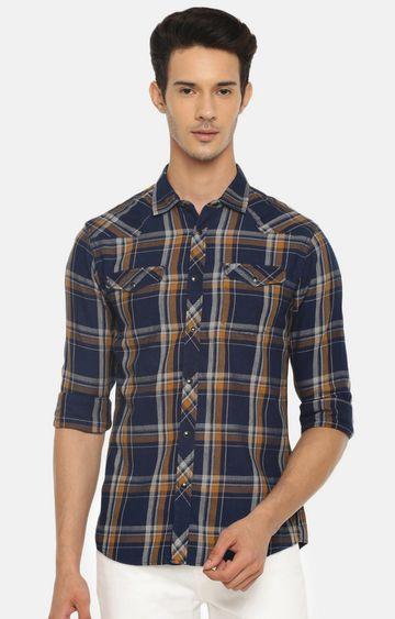 celio | Peach Solid Polo T-Shirt