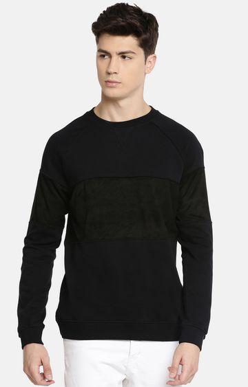 celio | Navy Solid Sweatshirt