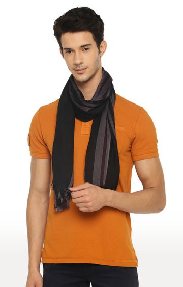 celio | Black Striped Stole