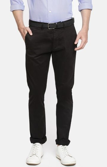 celio | Black Slim Fit Chinos