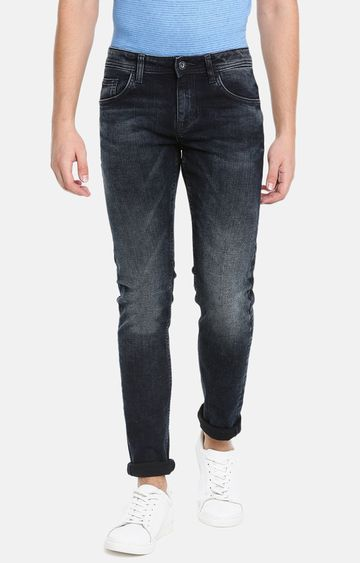 celio | Blue Solid Skinny Fit Jeans