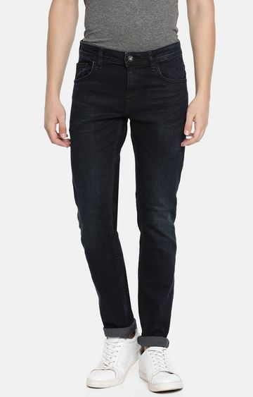 celio | Blue Solid Tapered Jeans