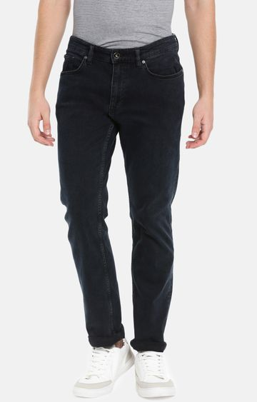 celio | Blue Solid Straight Fit Jeans