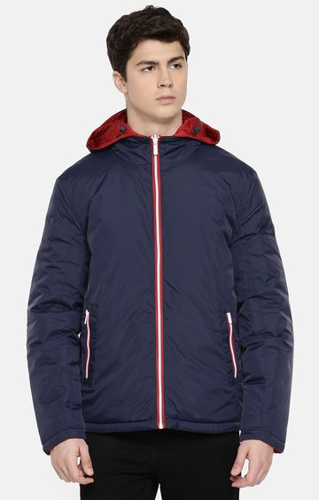 celio | Navy Reversible Bomber Jacket